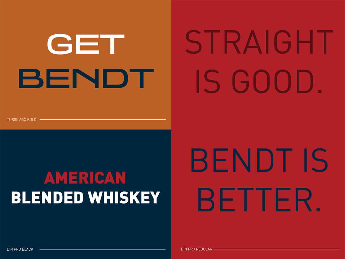BENDT Fonts Typography